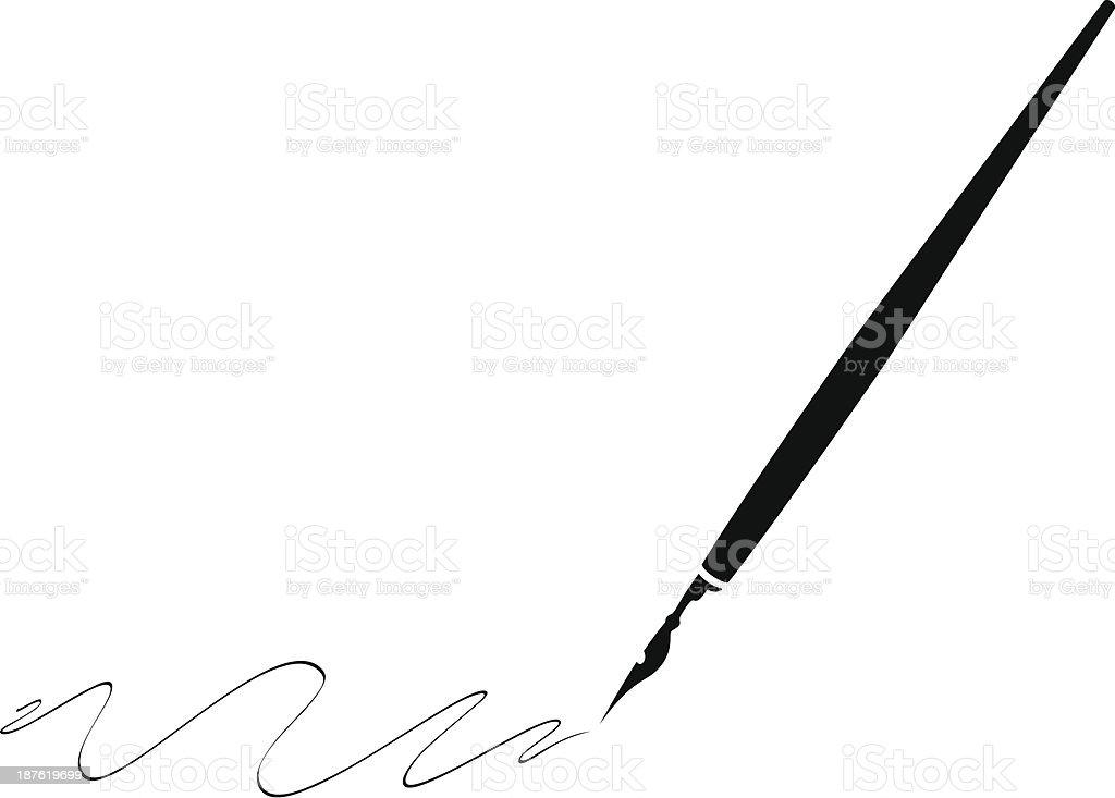 royalty free fountain pen clip art vector images illustrations rh istockphoto com fountain pen clipart free fountain pen clipart