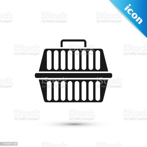Black pet carry case icon isolated on white background carrier for vector id1162697105?b=1&k=6&m=1162697105&s=612x612&h=hldwx4njcx pz9wc6dafa5x8tnwe42hfzjpdhxsfp8m=