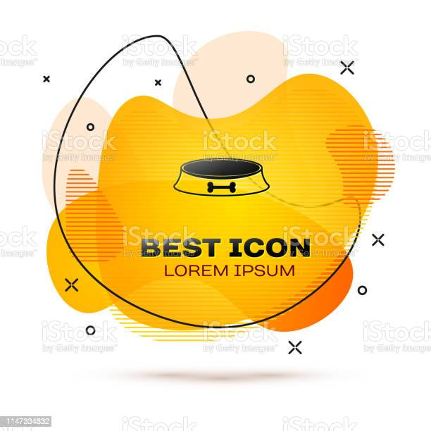 Black pet food bowl for cat or dog icon isolated on white background vector id1147334832?b=1&k=6&m=1147334832&s=612x612&h=gxrjsgb oldjoqjxqypip ncgoyzveplnjvcnnuw7b4=