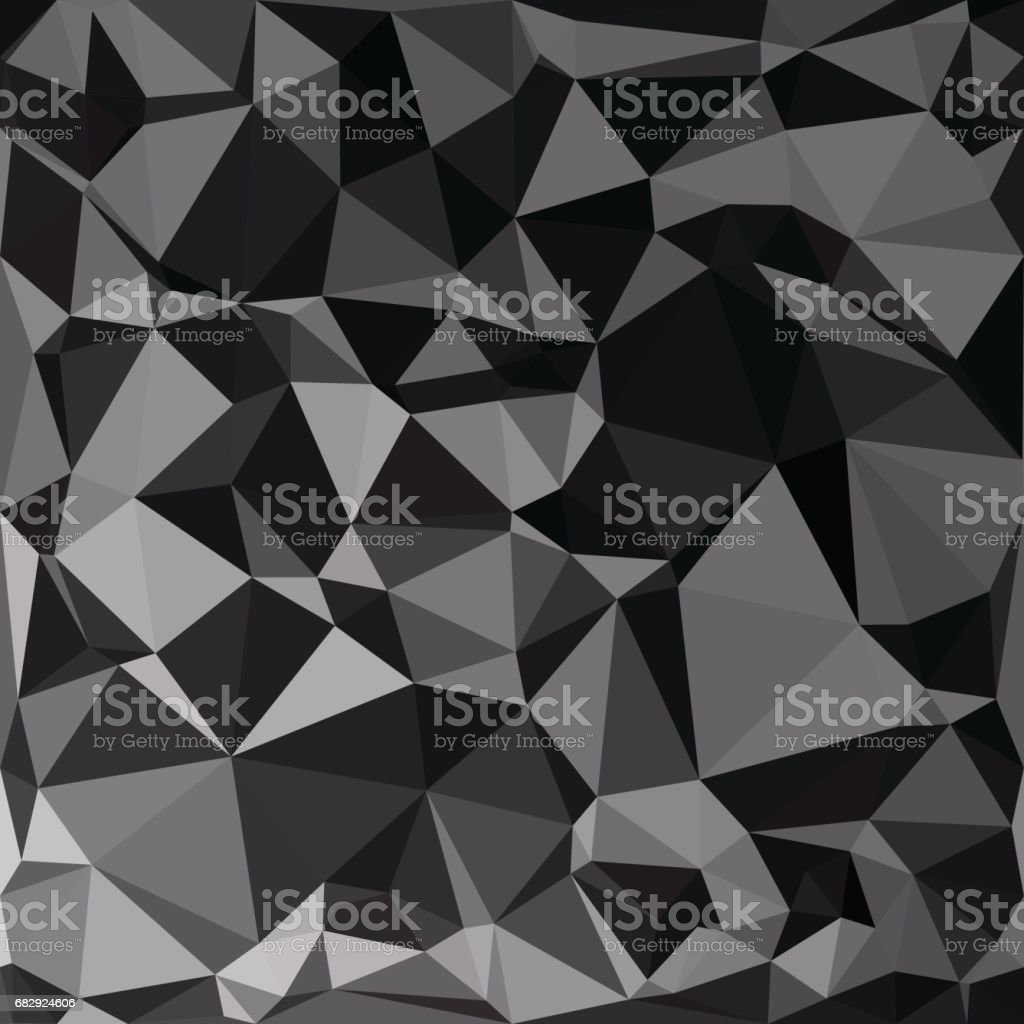 Black Polygonal Mosaic Background, Creative Design Templates royalty-free black polygonal mosaic background creative design templates stock vector art & more images of abstract