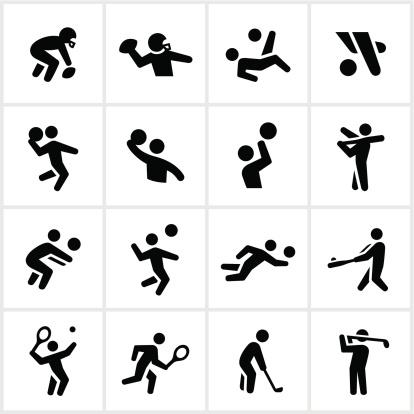 Black Popular Sports Icons