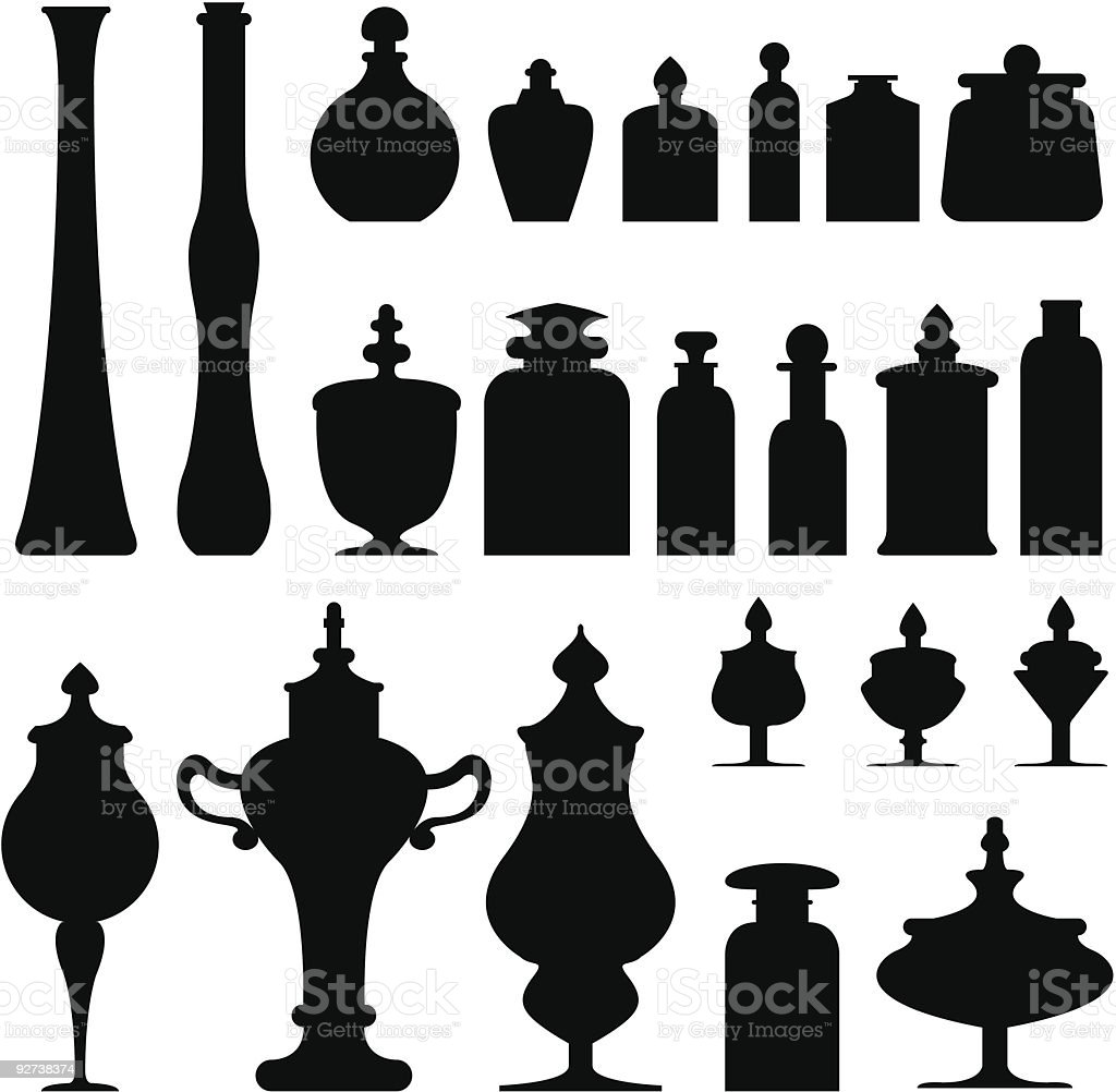 Black pot art on white background royalty-free black pot art on white background stock vector art & more images of antique