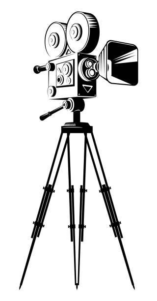Movie Camera Illustrations, Royalty-Free Vector Graphics ...