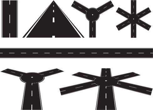 Black Road Sections
