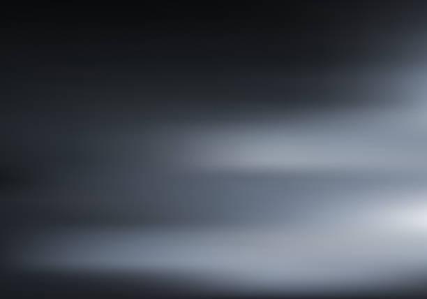 illustrations, cliparts, dessins animés et icônes de chambre noire 3d avec faible lumière et ombre sur fond sombre. éclairage de nuit sur la texture du mur et du sol. fond flou de mouvement. - fond studio