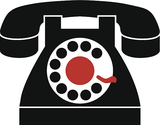 Best Dial Phone Illustrations, Royalty-Free Vector Graphics