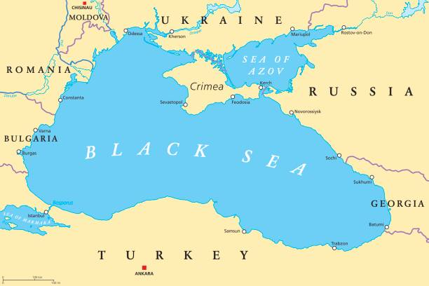 Royalty free black sea clip art vector images illustrations istock black sea and sea of azov region political map vector art illustration publicscrutiny Choice Image