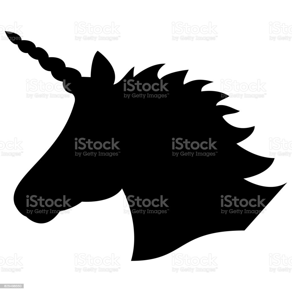 royalty free unicorn head clip art vector images illustrations rh istockphoto com clipart headshot clipart headphones