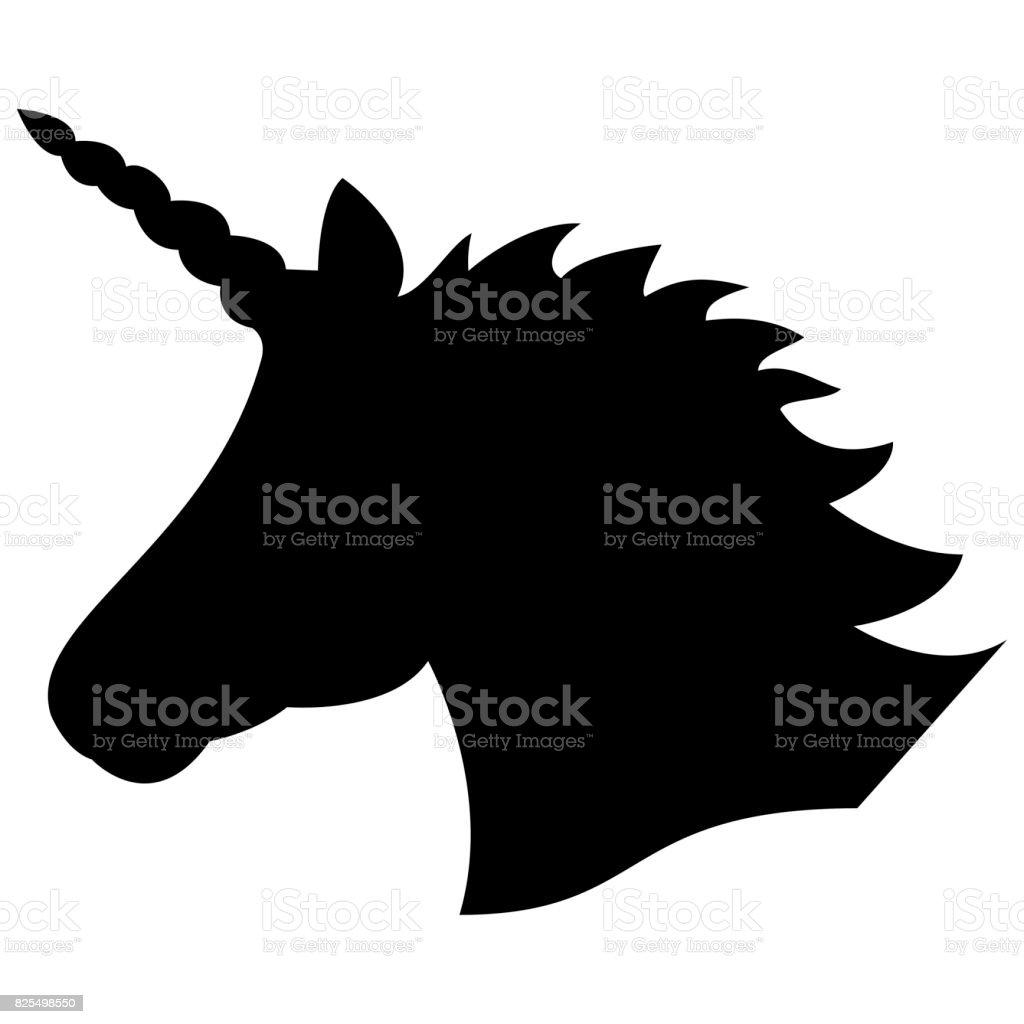 Unicorn Silhouette Print
