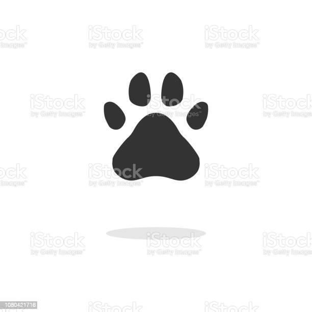 Black silhouette of a paw print isolated vector id1080421716?b=1&k=6&m=1080421716&s=612x612&h=v1vlj jsrfyzbklqf7fcwjhf4iqw5gqbnjfg1e6gvxo=