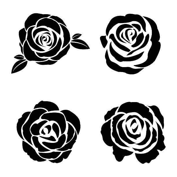 Royalty Free Rose Clip Art, Vector Images & Illustrations ...