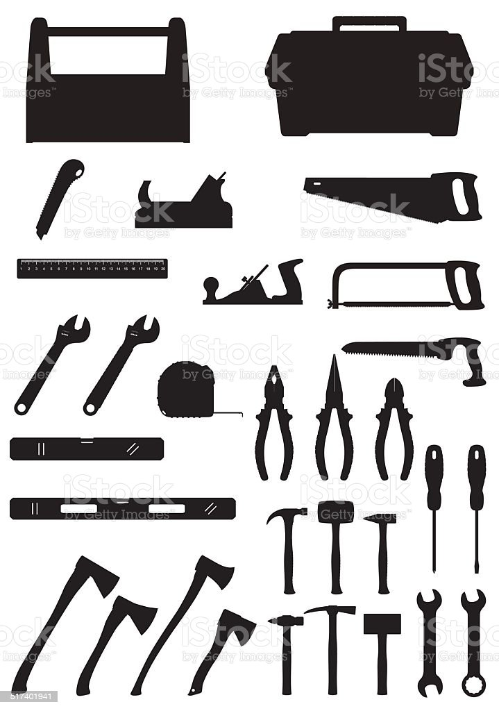 Royalty Free Wood Tool Box Clip Art Vector Images Illustrations