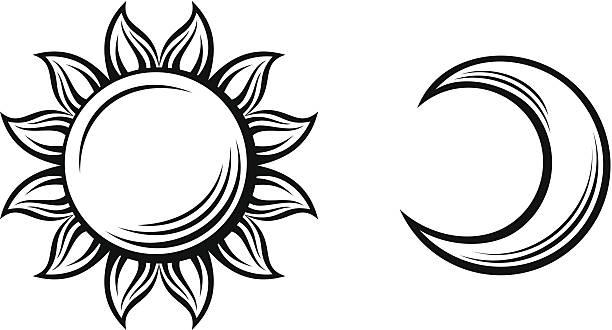 Half Moon Illustrations, Royalty-Free Vector Graphics ...