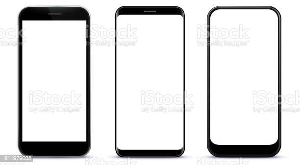 Black smart phones vector illustration vector id911979038?b=1&k=6&m=911979038&s=612x612&h=swuhbe1he0vdbdjd2xus0qpv0awso m xcqnjykziju=