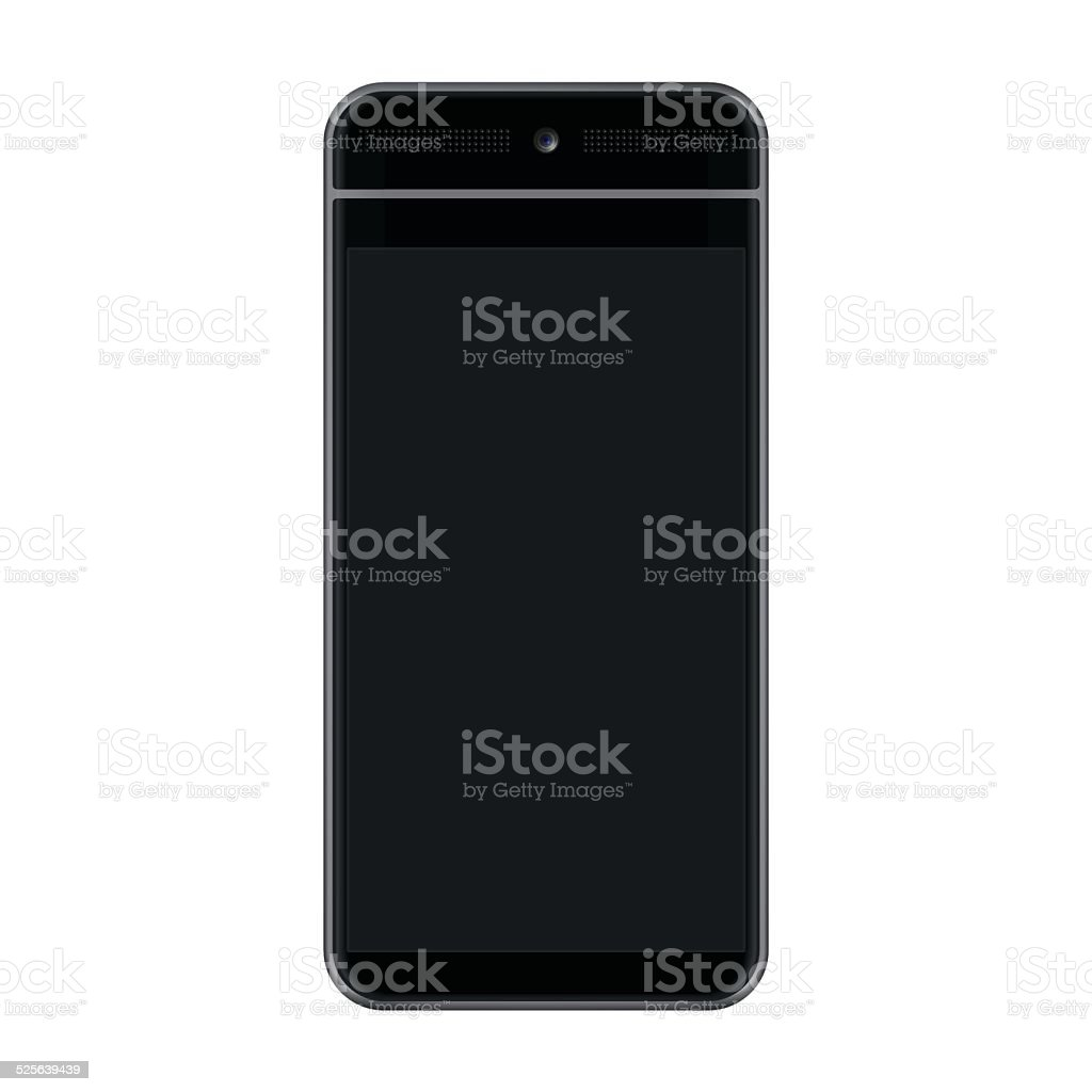 HD Black Smartphone