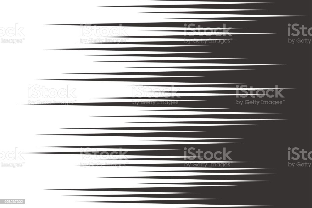 Black speed horizontal lines