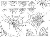 Basic spider web (vector). ZIP includes AI(CS) and EPS