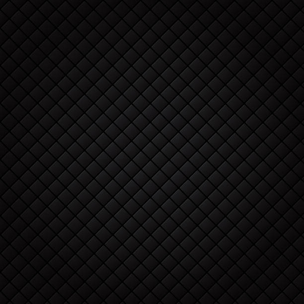 Black square pattern. Luxury sofa background and texture. Black square pattern. Luxury sofa background and texture. vector illustration bedroom backgrounds stock illustrations