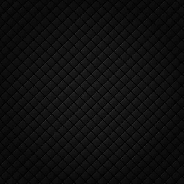 schwarzes quadrat-muster. luxus sofa hintergrund und textur. - tapete stock-grafiken, -clipart, -cartoons und -symbole