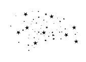 istock Black star comet 1183777178