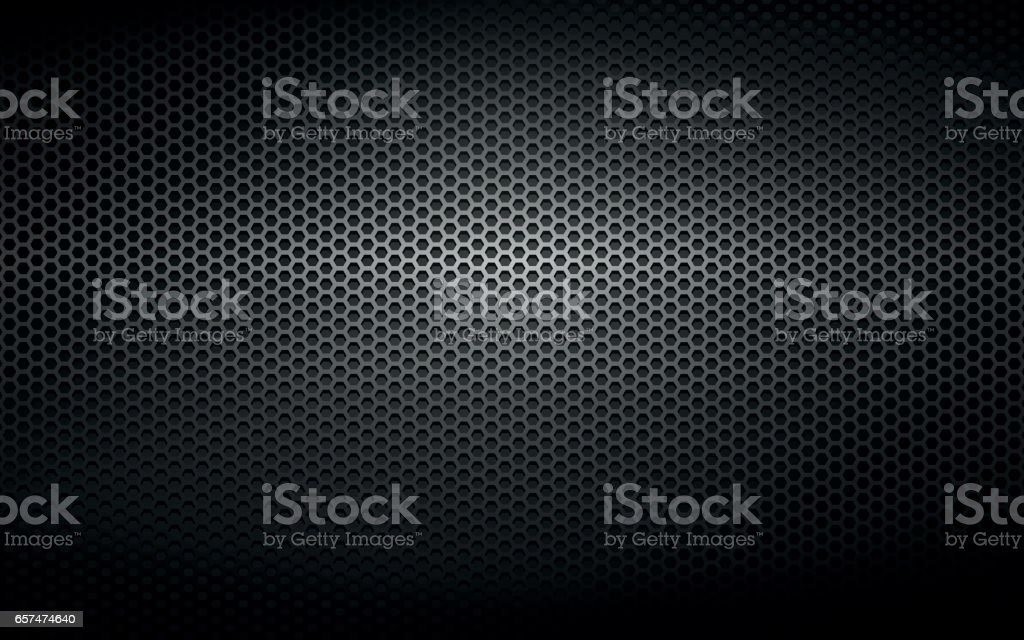 Schwarz Metall Stahlblech Hintergrund – Vektorgrafik