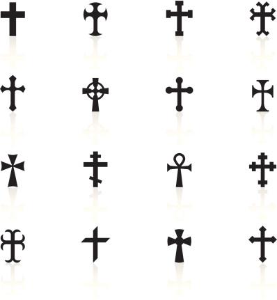 Black Symbols - Crosses