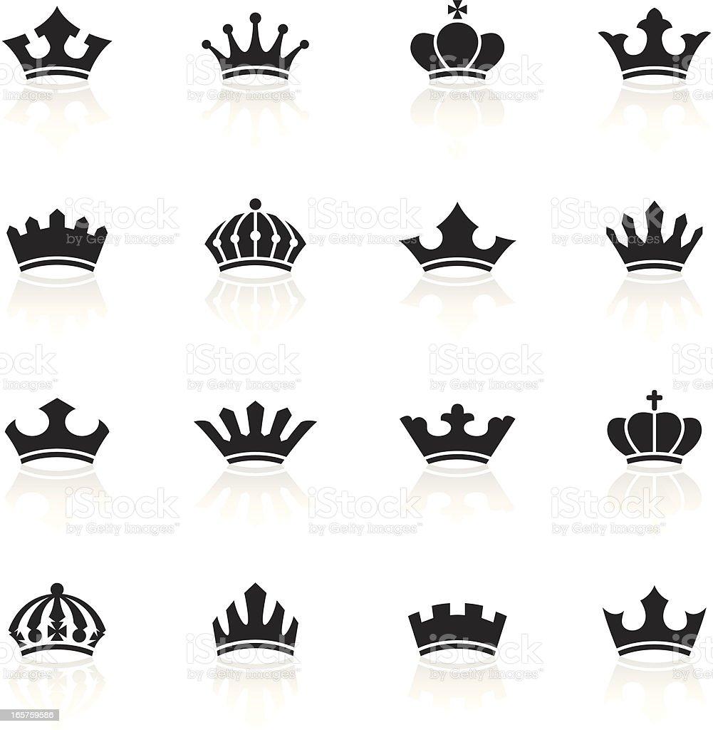 Black symbols crowns stock vector art more images of black color black symbols crowns royalty free black symbols crowns stock vector art amp more biocorpaavc Gallery