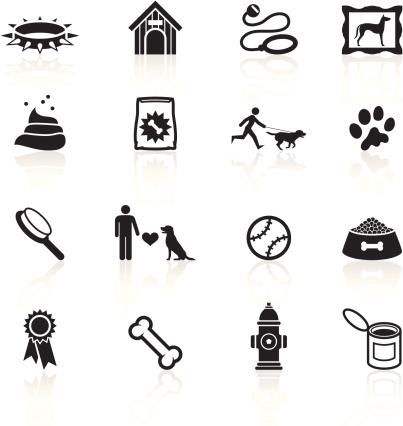Black Symbols - Dog