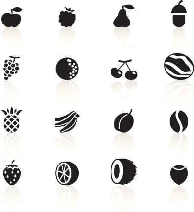Black Symbols - Fruit