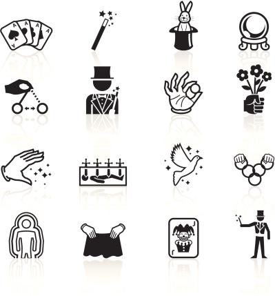 Black Symbols - Illusionism and Magic
