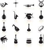 Black Symbols - Musical Instruments