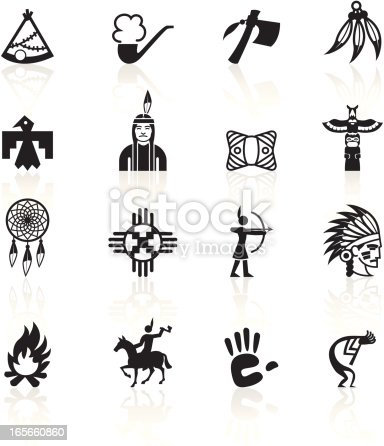 Native American icons.
