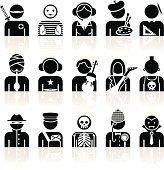 Black Symbols - Professions