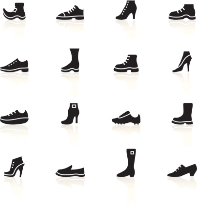 Black Symbols - Shoes
