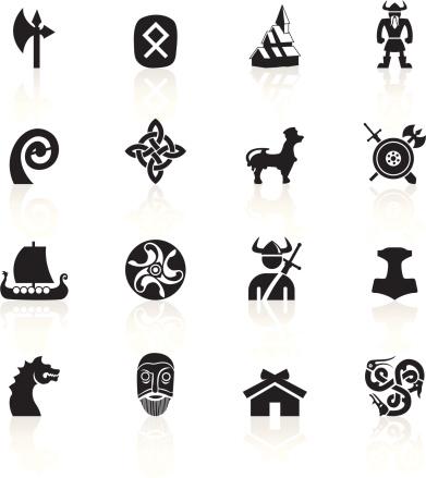 Black Symbols - Vikings