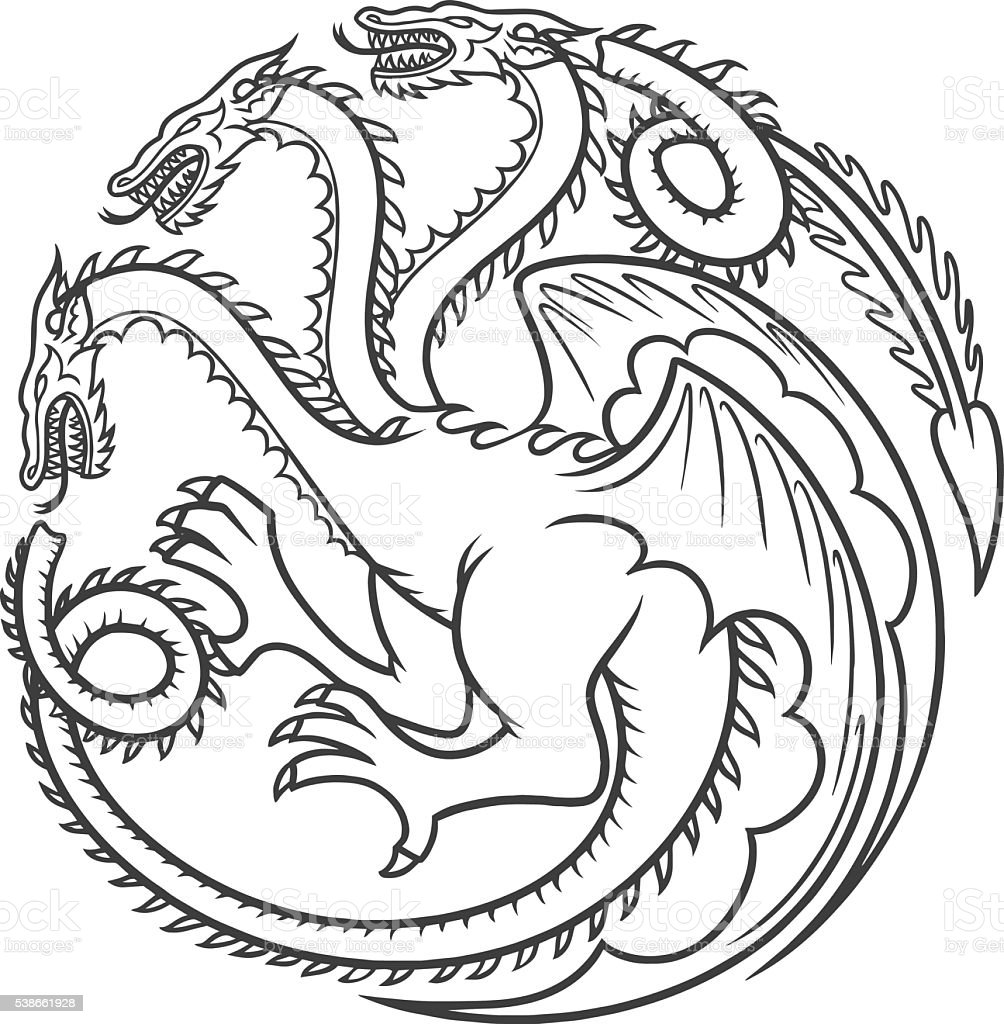 black tattoo dragon vector mens tattoo womens tattoo stock vector