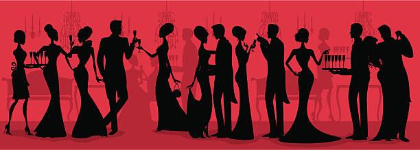 Black Tie Silhouette de - Illustration vectorielle