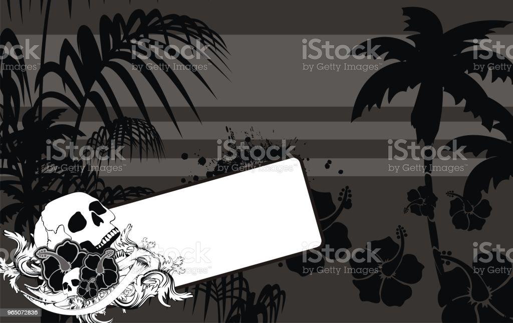 black tropic summer hawaiian background black tropic summer hawaiian background - stockowe grafiki wektorowe i więcej obrazów abstrakcja royalty-free