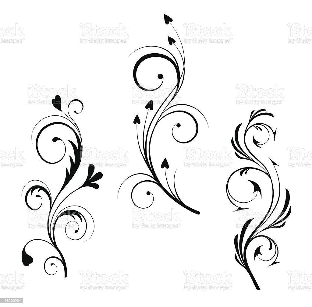 Black vector design royalty-free black vector design stock vector art & more images of abstract