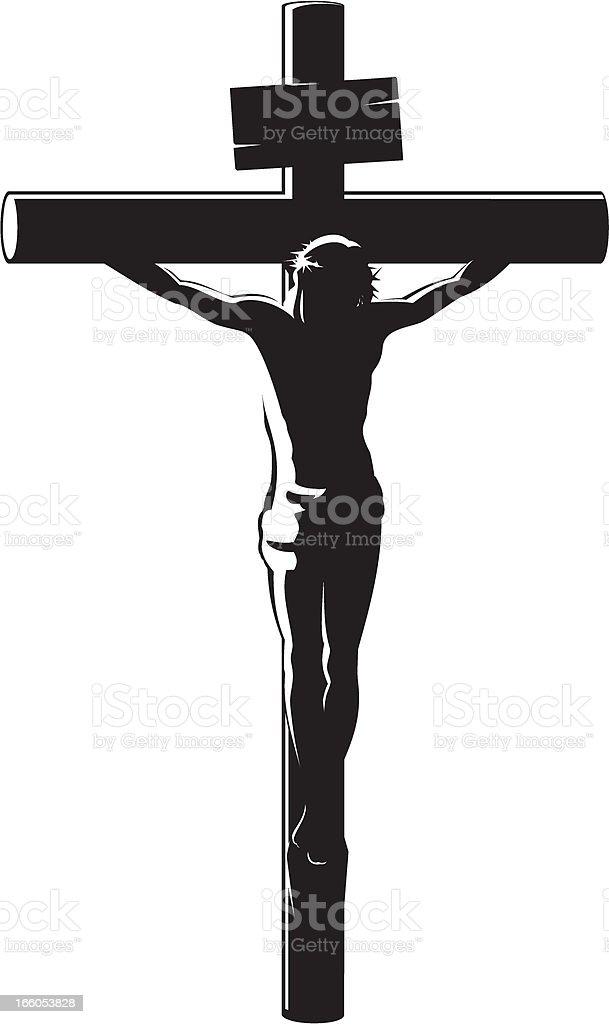 Ilustración De La Crucifixion De Cristo Y Más Banco De Imágenes De