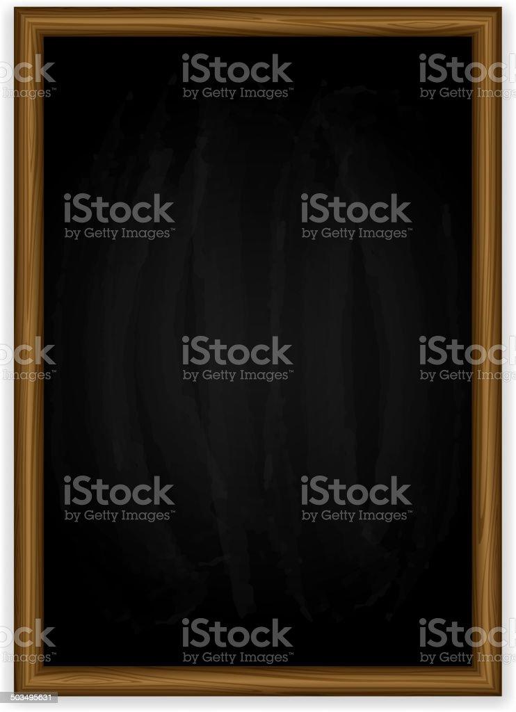 vertical Tableau noir - Illustration vectorielle