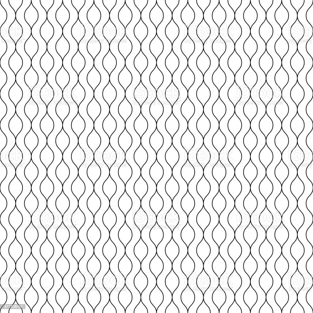 Black Vertical Lines On White Background Striped Endless
