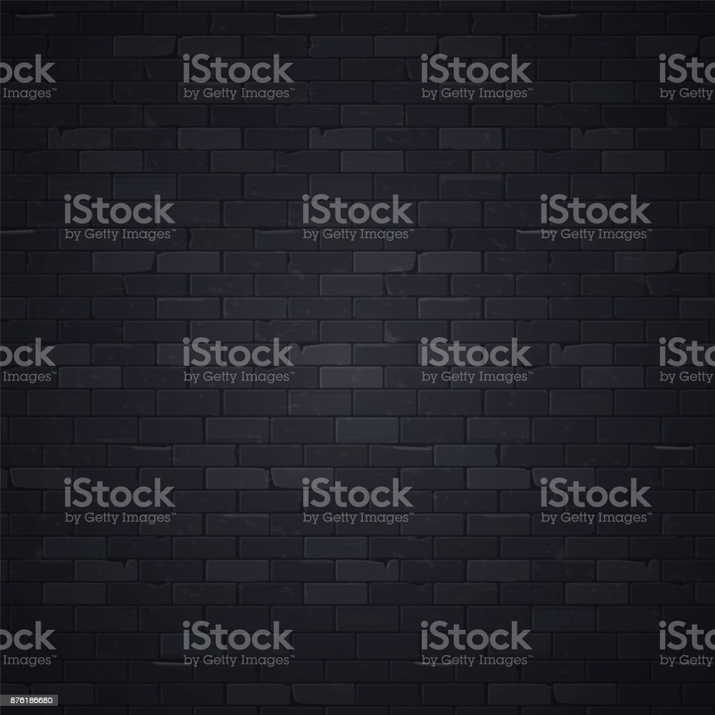 Mur noir 1 - Illustration vectorielle