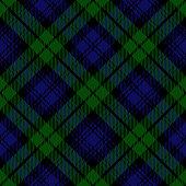 istock Black Watch Scottish Royal Tartan Plaid Textile Pattern 1255183843