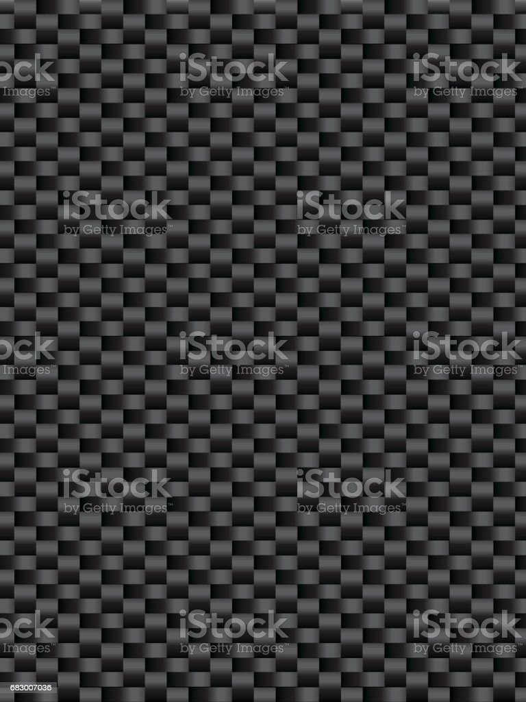 Black weave texture synthetic fiber cevlr, geometric seamless background vector royalty-free black weave texture synthetic fiber cevlr geometric seamless background vector stock vector art & more images of art