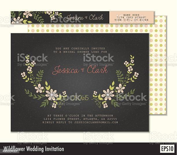 Black wedding invitation with wildflowers vector id495334331?b=1&k=6&m=495334331&s=612x612&h=oops2ate84nqq7vewe3xaowcyenddwc8kw2xxasza2u=