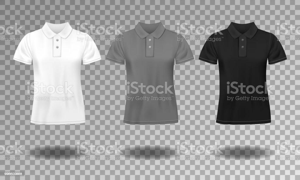 82b066a9c0 Ilustração de Modelo De Design De Tshirt Em Preto Branco E Cinza ...