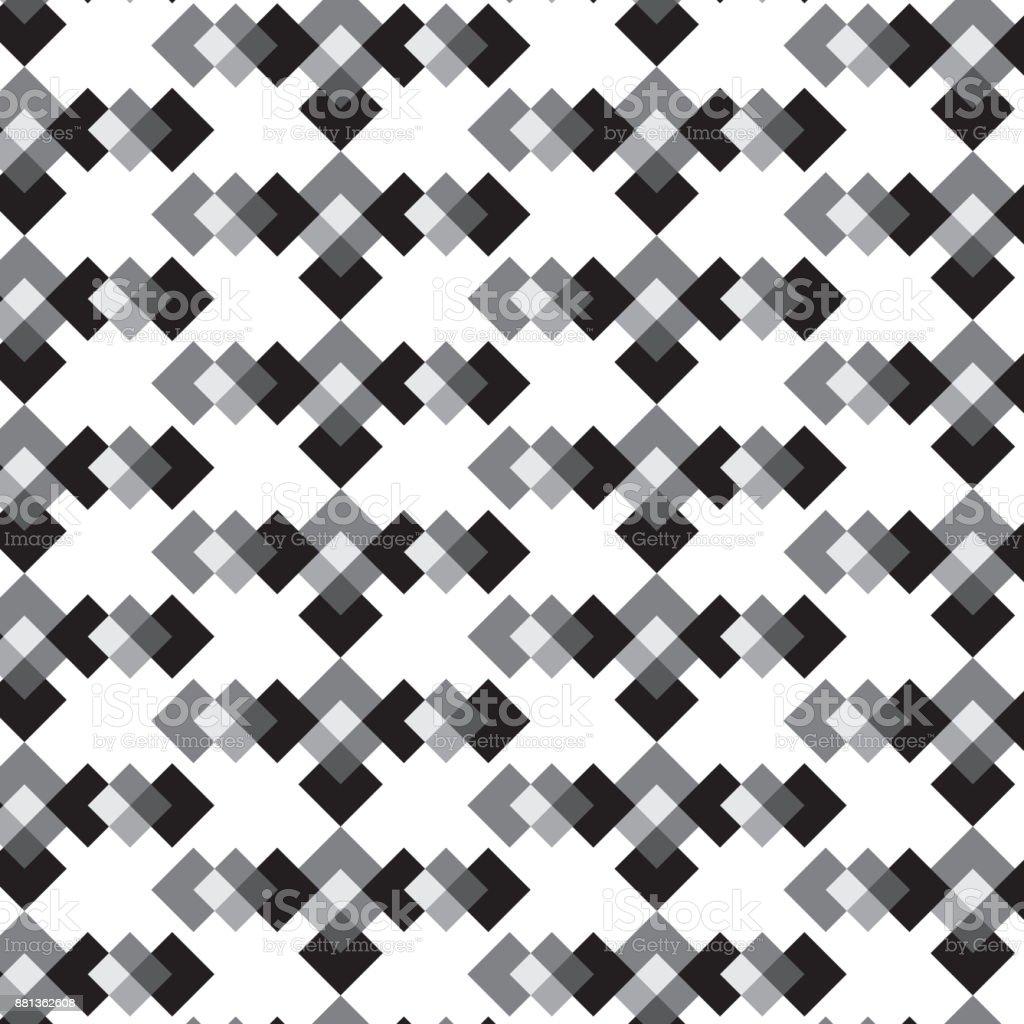 Ilustración de Pantalla En Negro Blanco Y Plata Diamante Tejido En ...