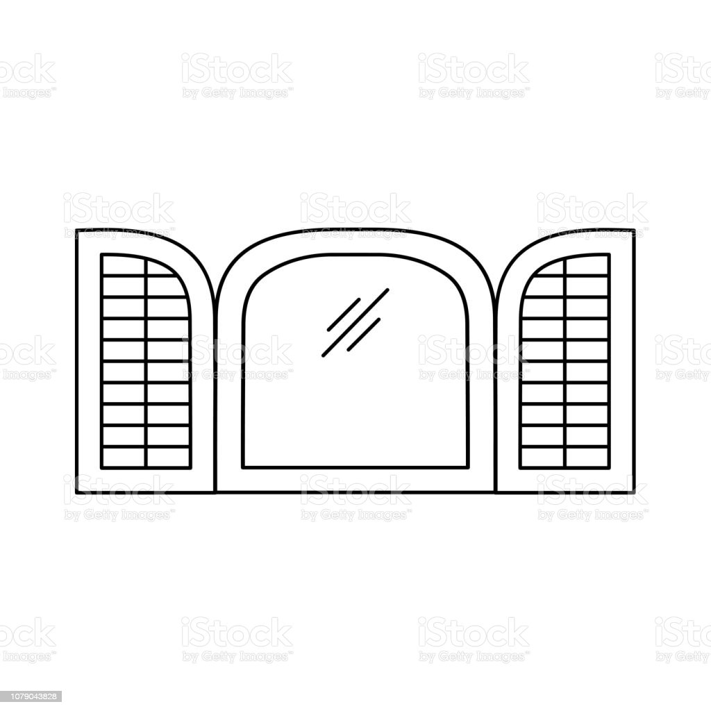 royalty free plantation shutters clip art  vector images  u0026 illustrations