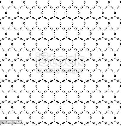 preto & branco padrão sem emenda com polígonos e triângulos